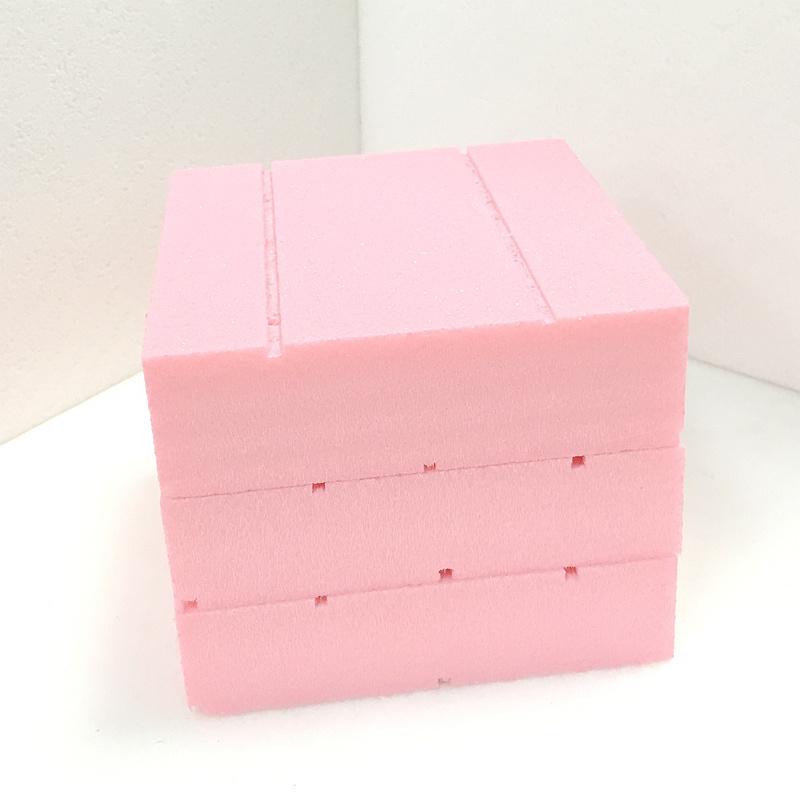 Fuda verdrängte des Polystyren-(XPS) Rosa dick gekerbte 25mm Schaumgummi-des Vorstand-B2 des Grad-500kpa