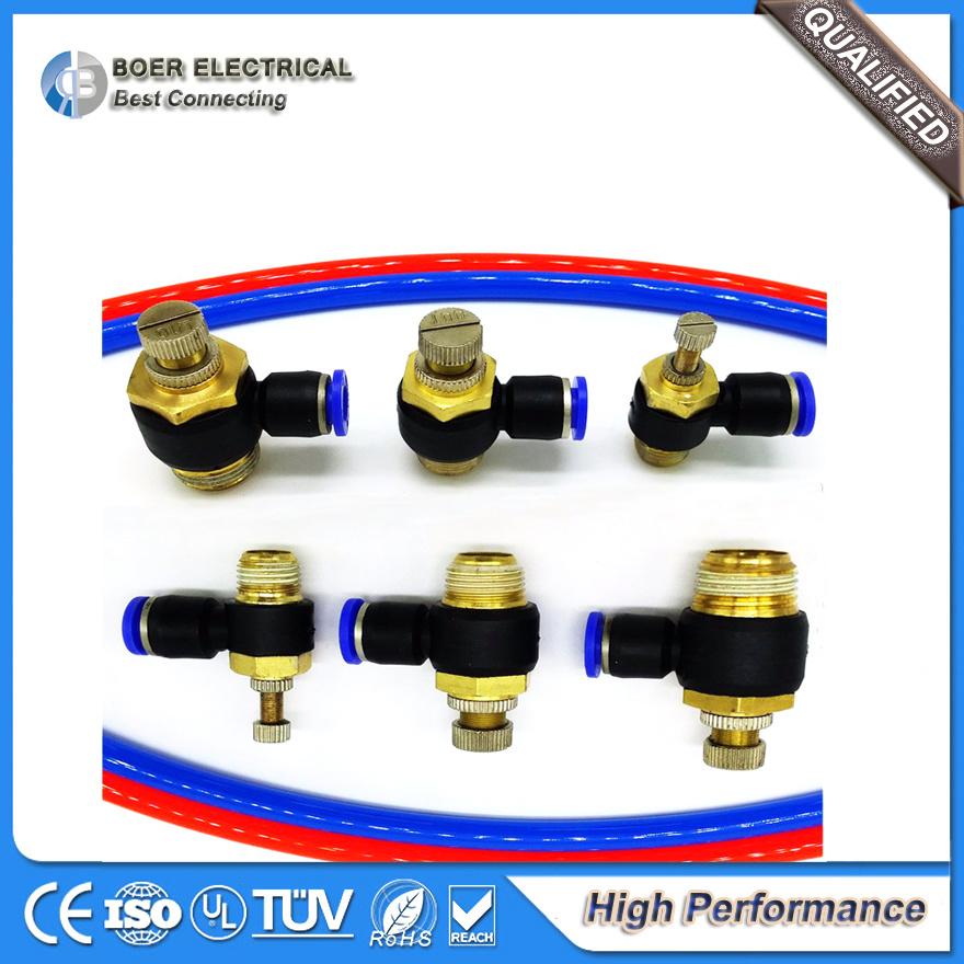 Connettore pneumatico di pressione per il collegamento di cavo elettrico industriale