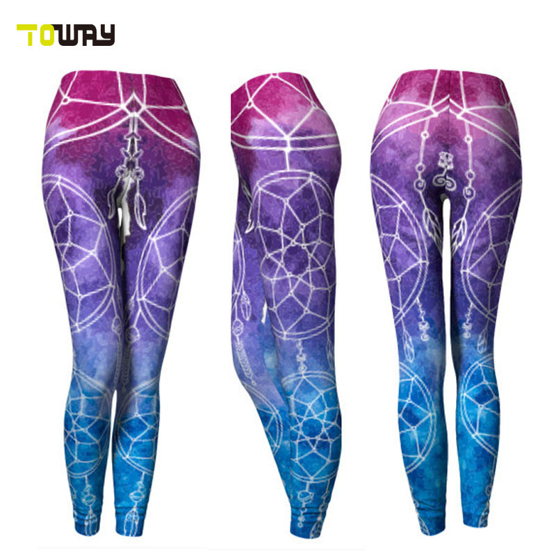 Personalisierte Kompressionshose Für Damen Mit Yoga-Strumpfhose
