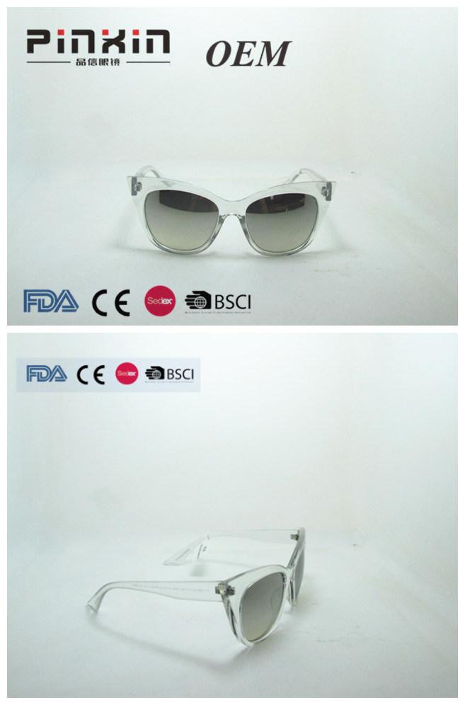 Großhandelsqualitätstitansonnenbrillen mit Schutz-Cer FDA des Matel Rahmen-Bügel-UV400