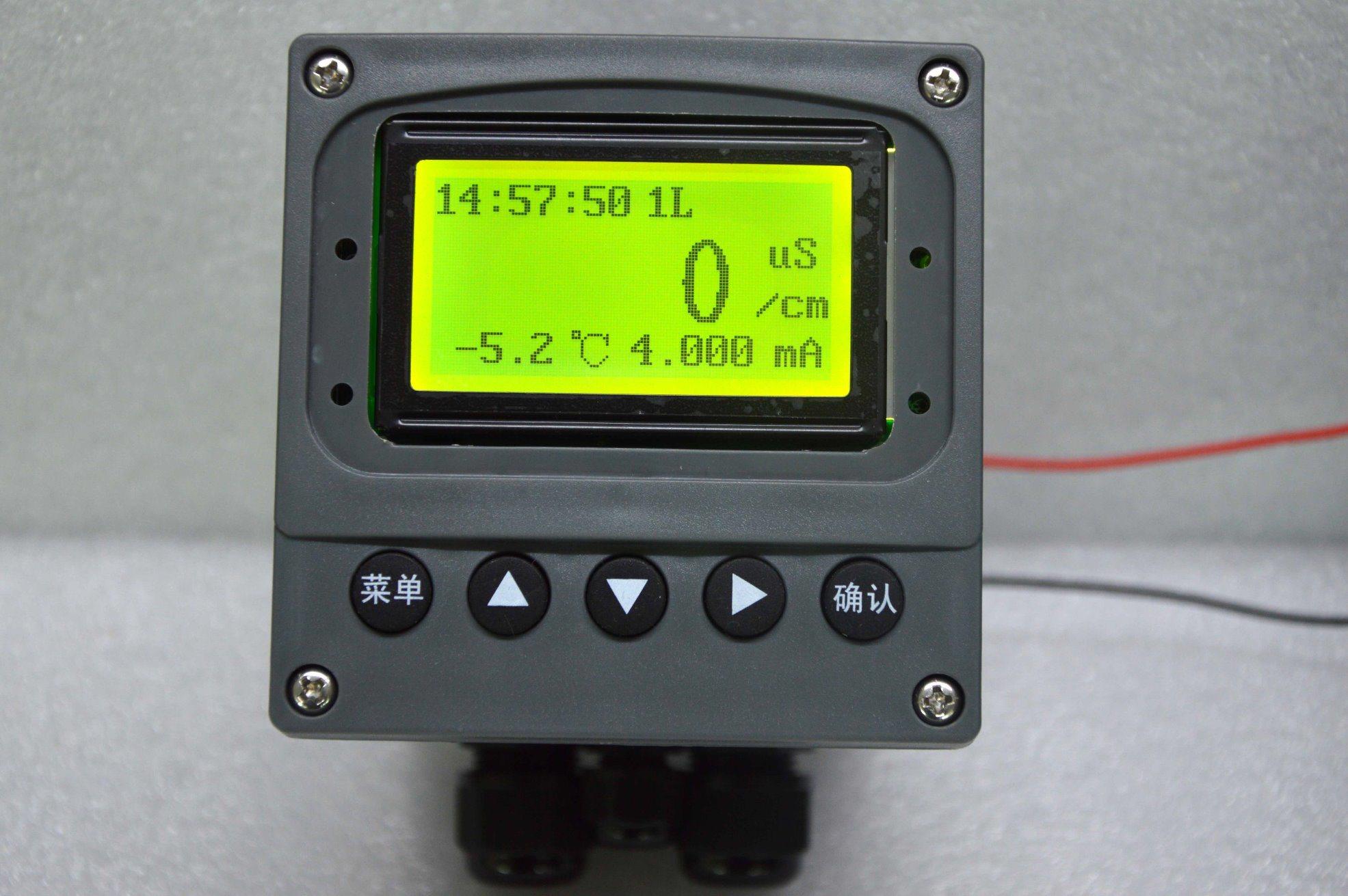 Ddg 99e 지적인 산업 Panel-Mounted 적능력 전도도 해석기