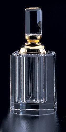 Bouteille de parfum de cristal