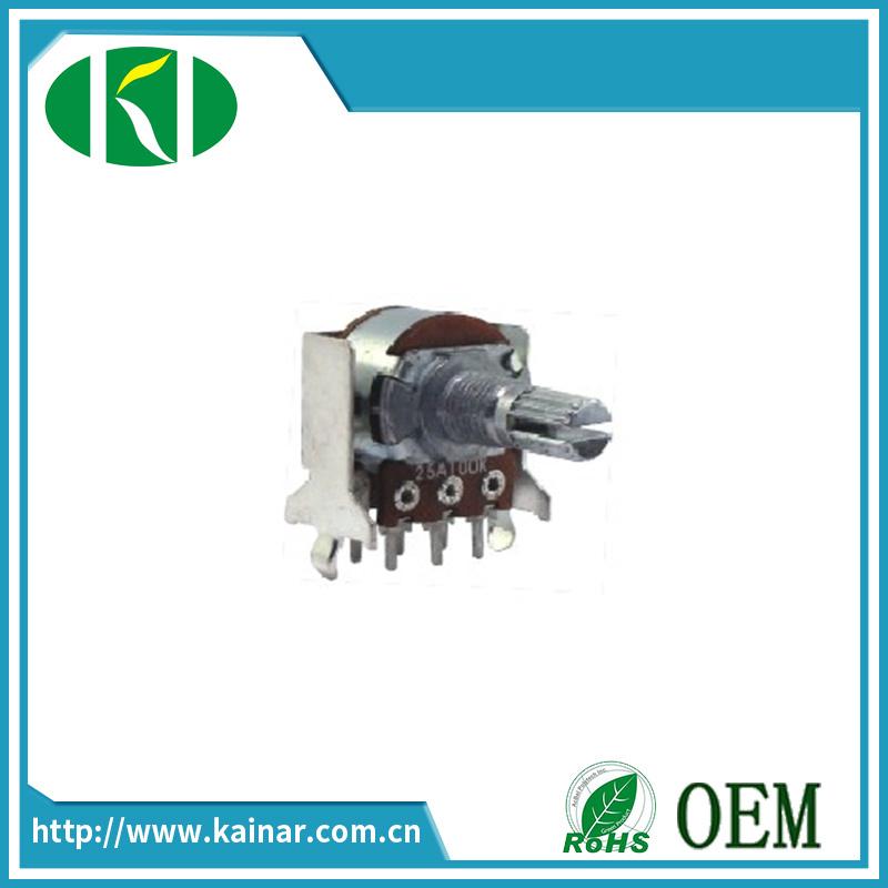 Potentiomètre rotatif en vente directe en usine avec 18t Wh148-1B-2J-18t