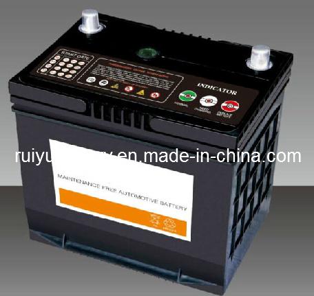 65D26R (L) / 12V 65Ah/ JIS// standard du Japon de batterie de voiture