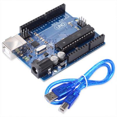 Arduino развитию Uno R3 с помощью кабеля USB Atmega328 Atmega16u2