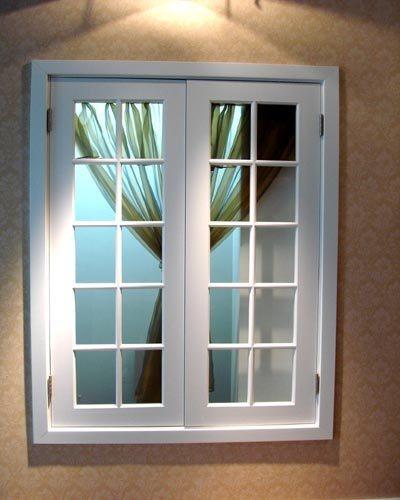 Ventana francesa de aluminio modelo 2 ventana francesa for Modelos de ventanas de aluminio