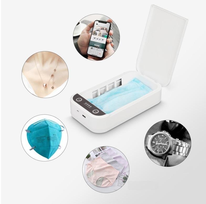 2020 Esterilizador UV portáteis móveis Caixa de Aromaterapia