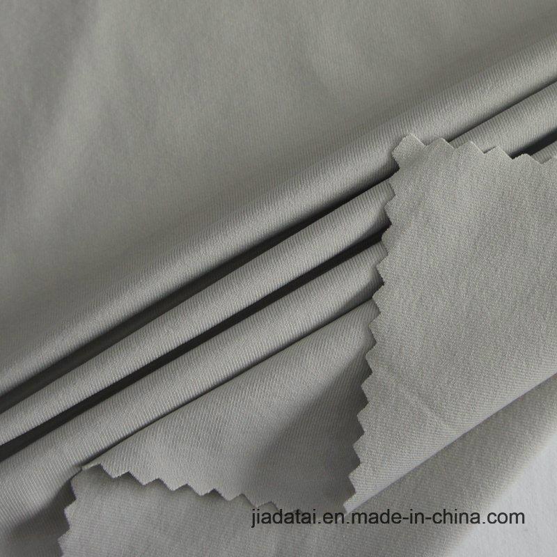 Экологичный моды эластан переработанных нейлоновые круговой вязки тонкие T футболка ткань