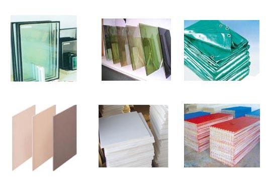Строительные материалы - стеклянные плитки