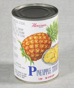 Консервированные фрукты (ананаса) в сиропе/сока