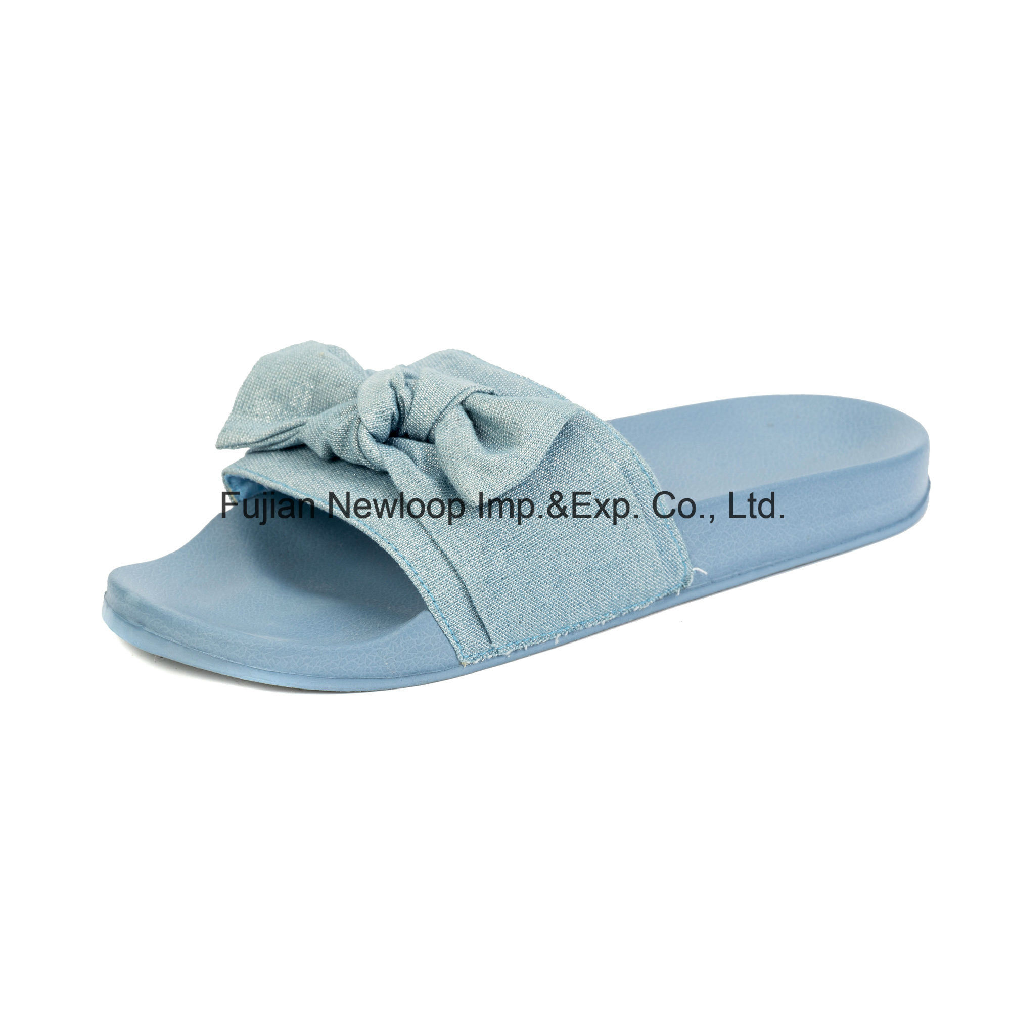 Gewebe-Segeltuch-Bogen-Knoten-Frauen-Form-Schuhe