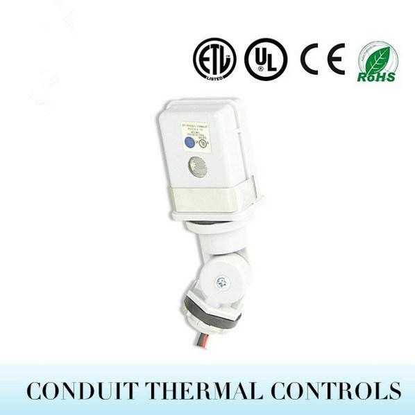 El interruptor de luz fotocélula Photocontrol Térmica de giro