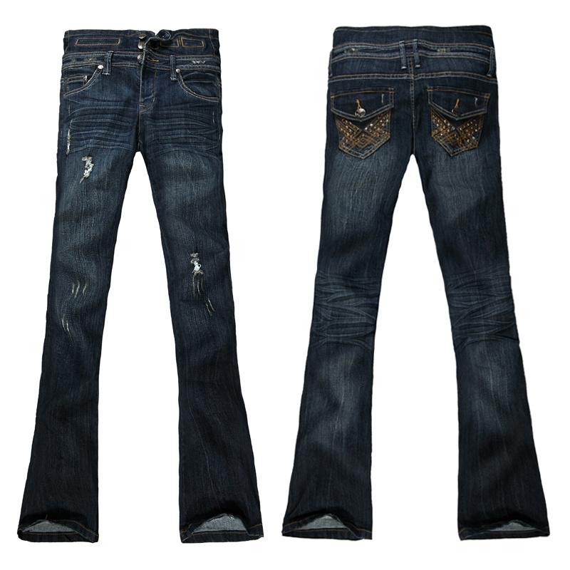 De la mujer Jeans (PL1636-A)