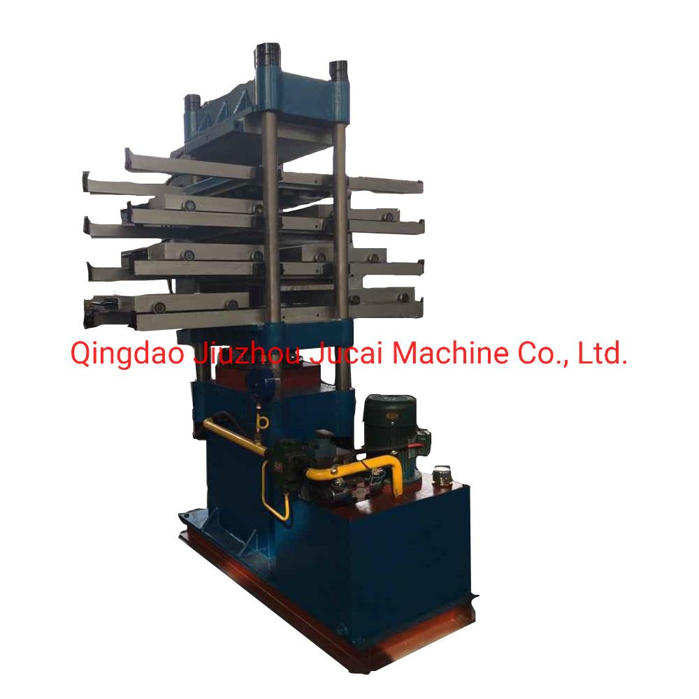 En caoutchouc pour la fabrication de tuiles Vulcanizer hydraulique