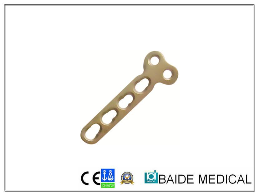 2,7 mm T-Plaque de compression de verrouillage