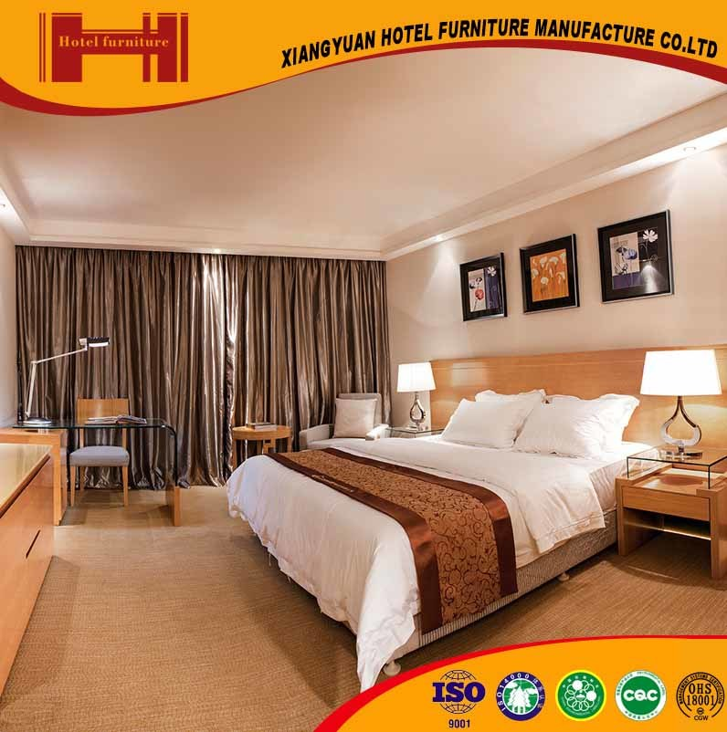 Mobilia di legno solida del salone della camera da letto dell'hotel di disegno moderno di fortuna