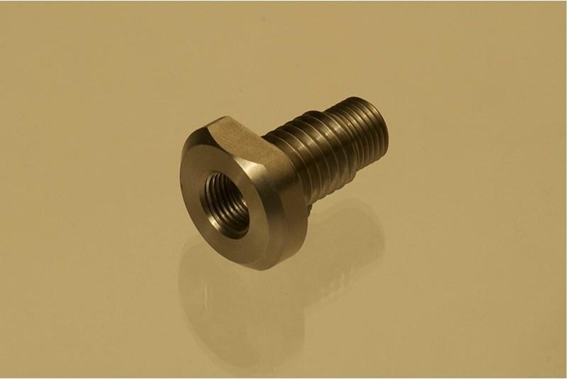 CNC su ordinazione di precisione delicato - pezzo meccanico d'acciaio
