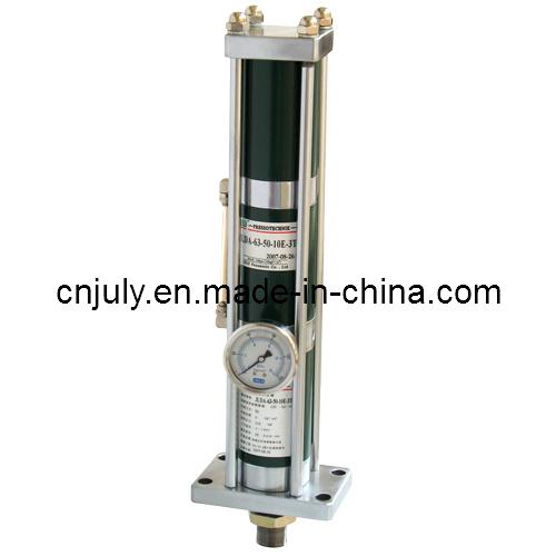 Aluminm 15t Vitesse rapide au cours de l'air du vérin d'huile