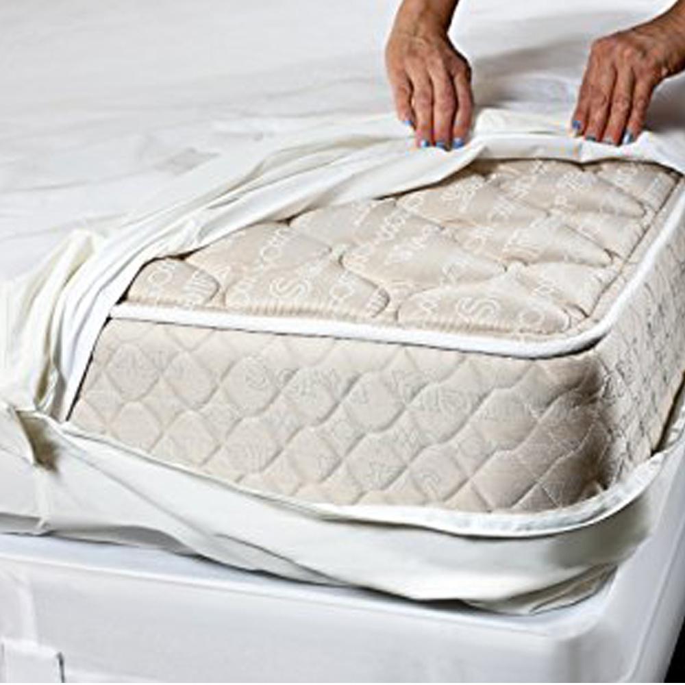 100/% étanche housse en coton Bed Bug Anti Acariens Matelas Protecteur Feuille