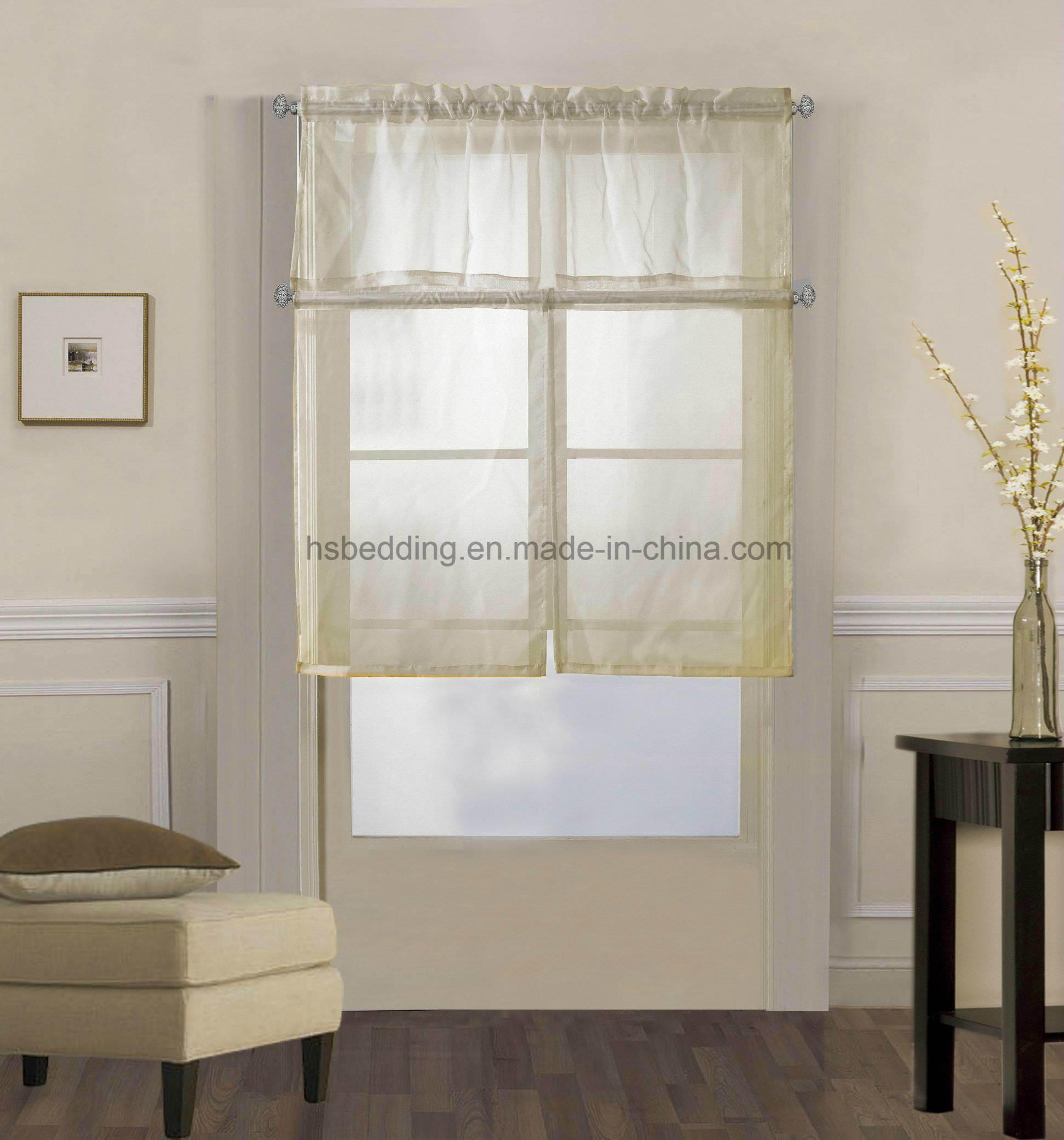 Rideaux Design Pour Chambre voile rideau blanc pur de rideaux de tulle pour la cuisine