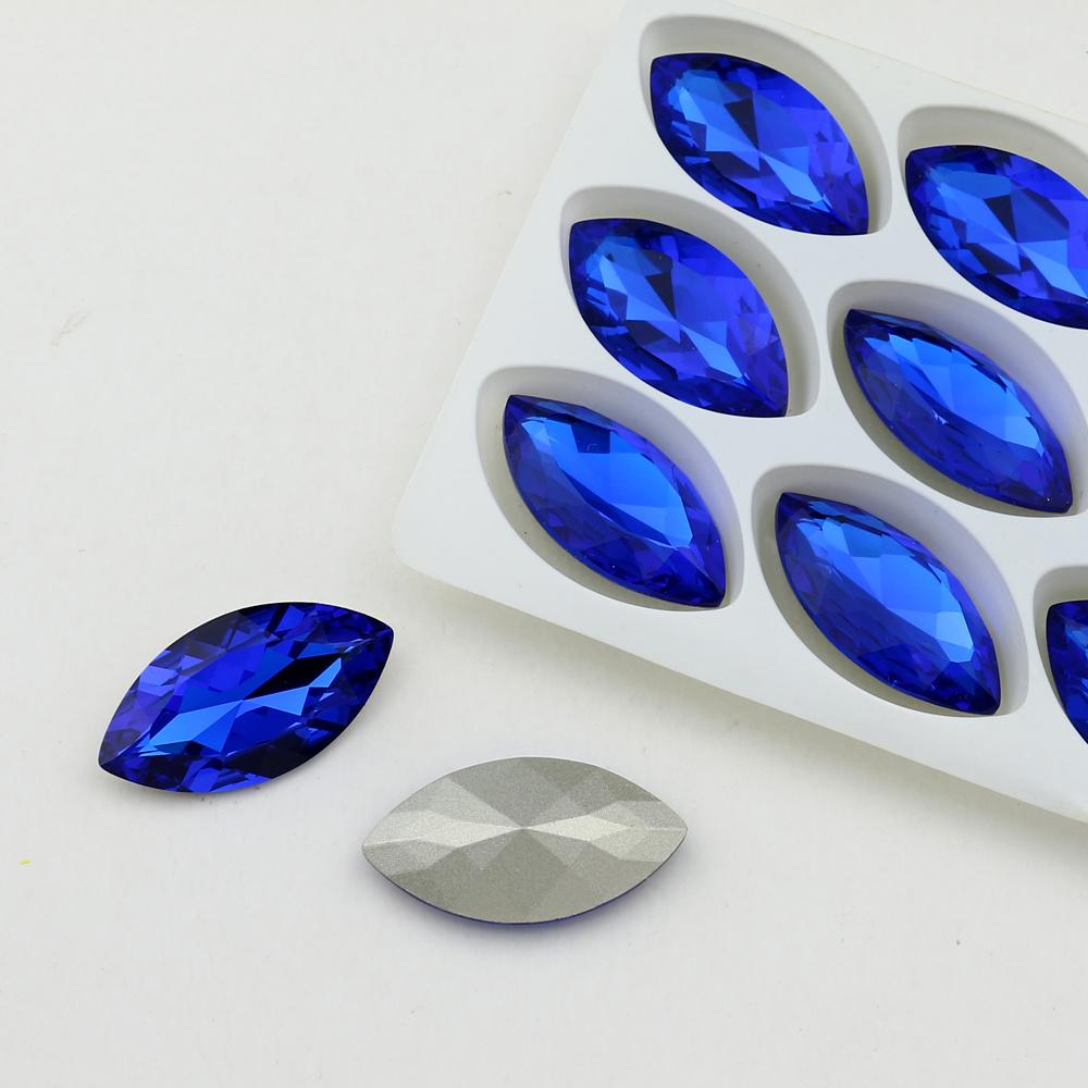 2fd3d509460b Foto de Blue Crystal Natteve piedras de fantasía para bisuteria en ...