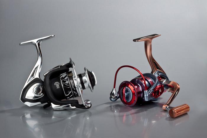 Carrete de pesca aparejos de pesca de metal (HLA3000A)