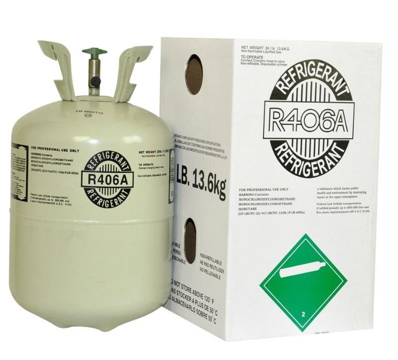 Una mezcla de refrigerante R406
