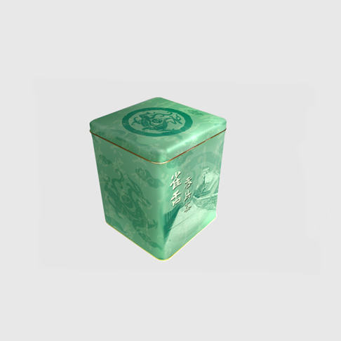 Lata de té verde (A88)