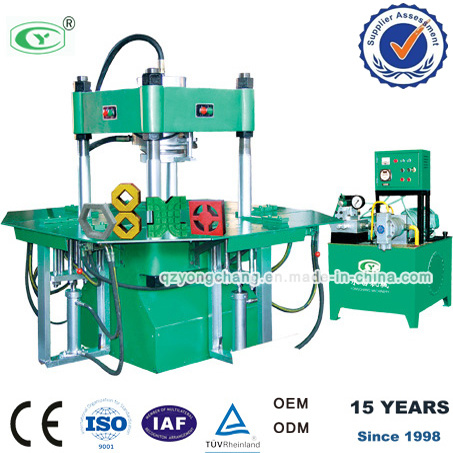 La maquina para fabricar bloques de pavimento de color