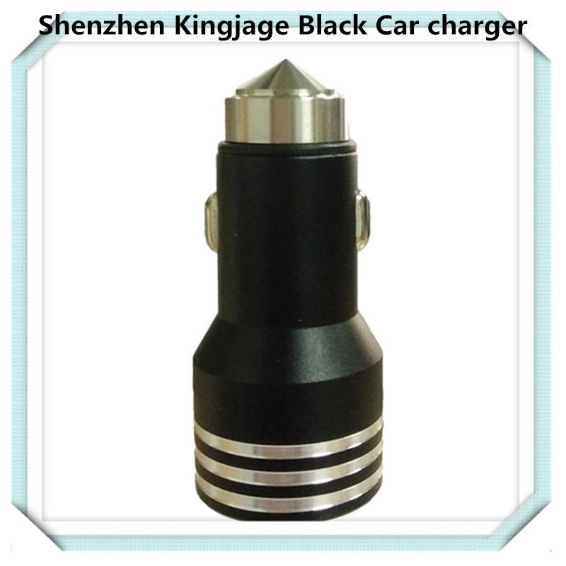 Universal USB cargador de coche, cargador de teléfono móvil para coche