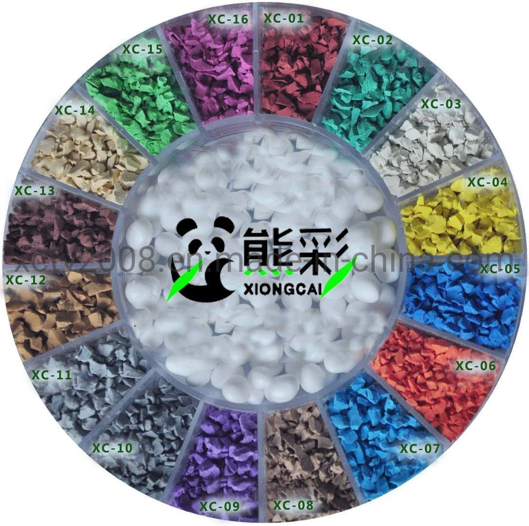 Los gránulos de caucho EPDM de colores para la ejecución de la vía/Parque/jardín de infantes