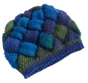 織り方の帽子