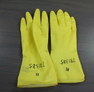 ゴム製産業手袋