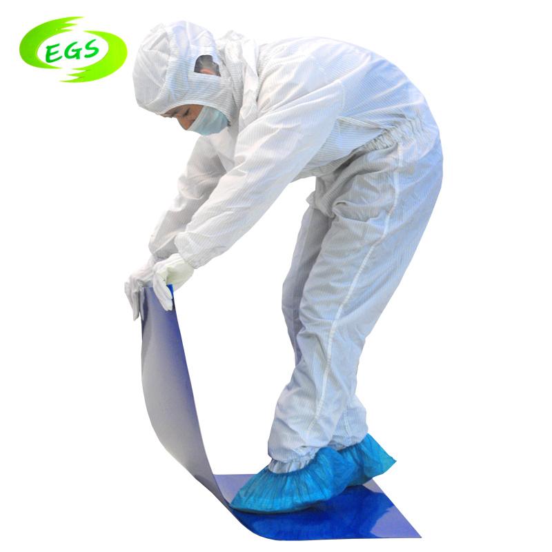 청정실 정전기 방지 ESD 먼지 스티키 매트 또는 저속한 매트