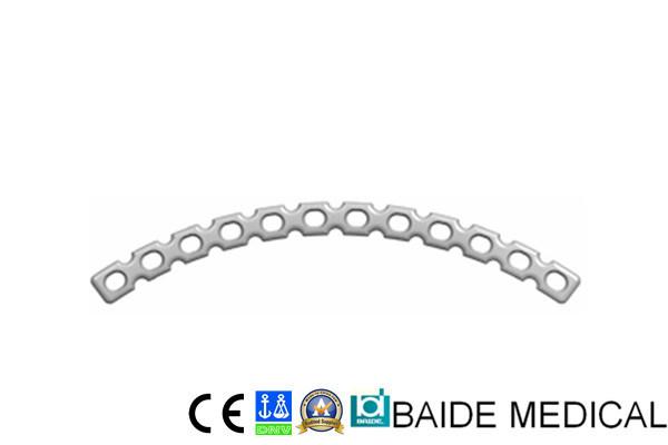 Placa de titânio curvo de Reconstrução Baide II