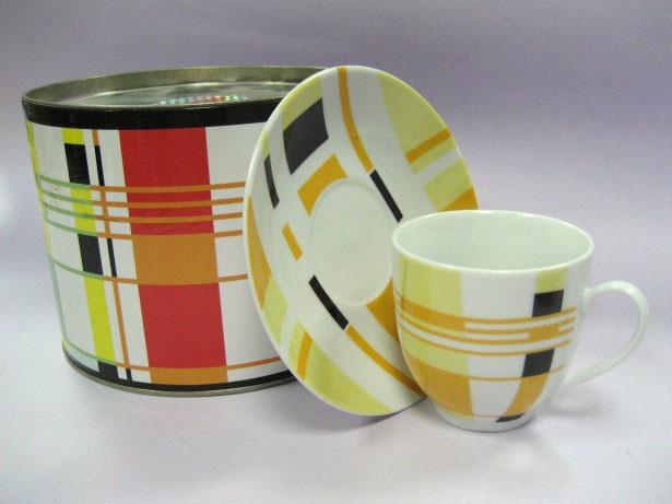 사기그릇 커피 세트 (M07037-D989D)
