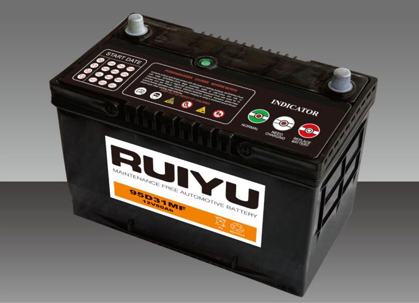 12V 70Ah N70SMF batterie automatique de la norme JIS batterie de voiture