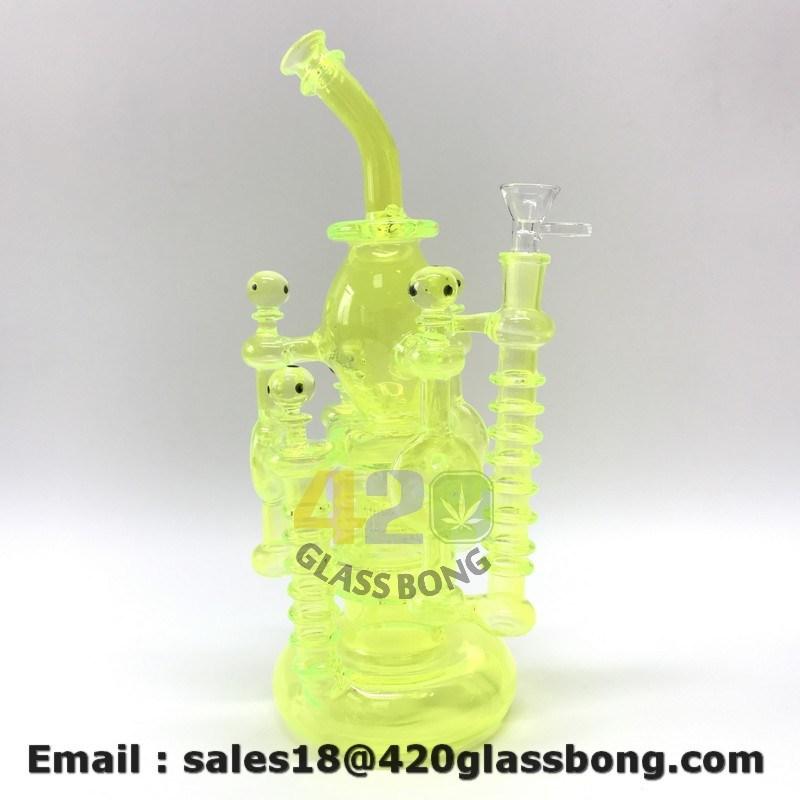 710 можно покурить кальян Hookah 14 дюймов утилизации курения трубки подачи воды из стекла