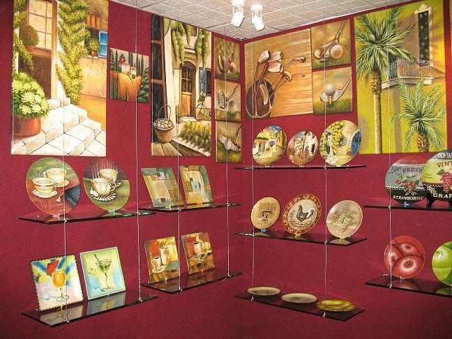 La decoración de cerámica