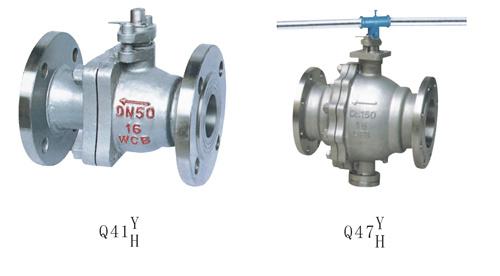 Сиденьем Flange-Metal шаровой клапан (Q41Y/H Q47Y/ч)