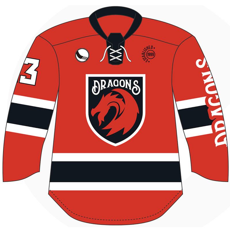 OEM Hockey Jersey Fashion Template druckbar
