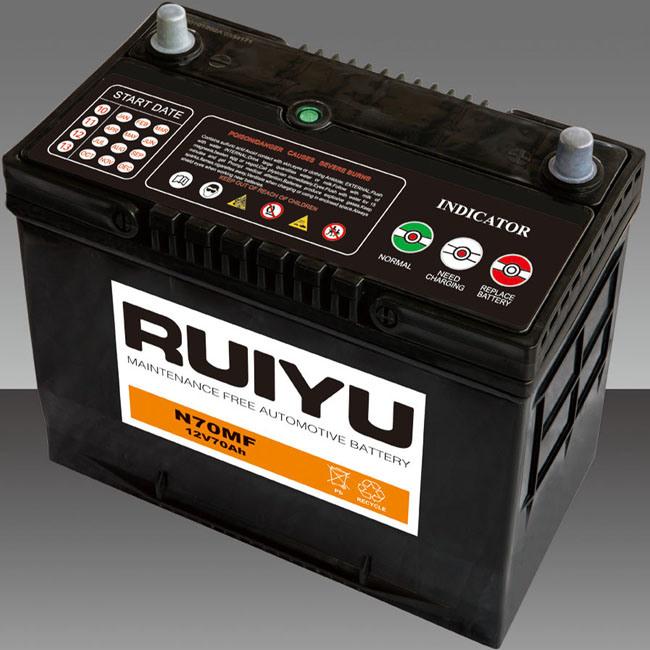 N70 Mf---65D31r-Mf--/ 12V 70Ah/JIS/ baterías automático