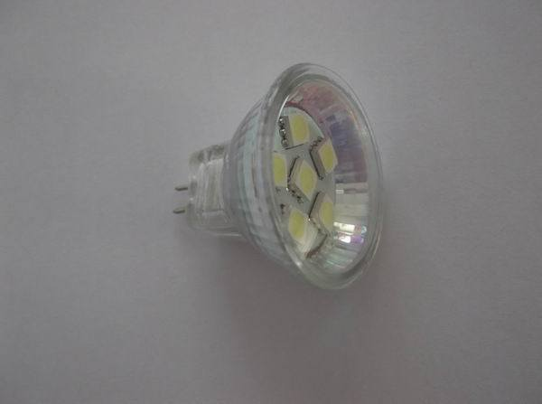 MR11 6LED Cool White Caravan Bulb (SP-CBMR11)