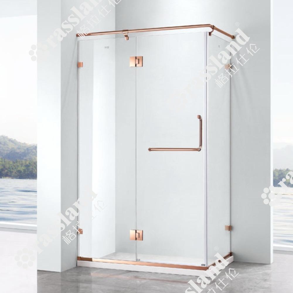 G26F21L Venda por grosso de vidro temperado de preços competitivos Personalizado Hotel Casa de banho com duche
