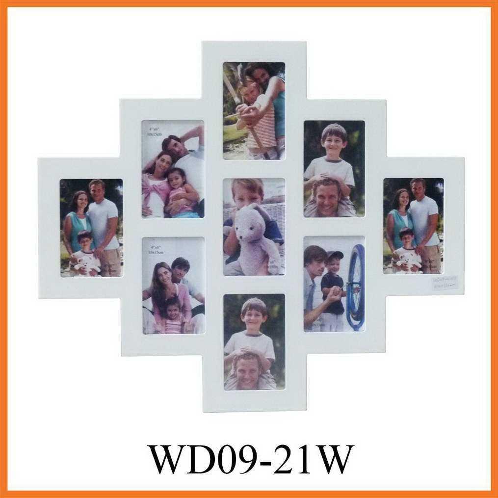 El marco de fotos Collage de MDF (WD09-21W) – El marco de fotos ...