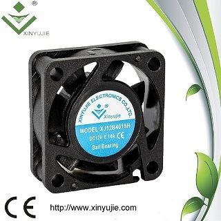 LED Lightsのための40X15mm Cooling Fans 12V 24V Low Noise Cooling Fans