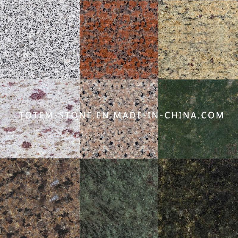foto de mosaico de piedra de granito pulido barata para