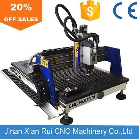 Jinan 시안 Rui Alibaba 도매 소형 탁상용 나무 6090 CNC 대패