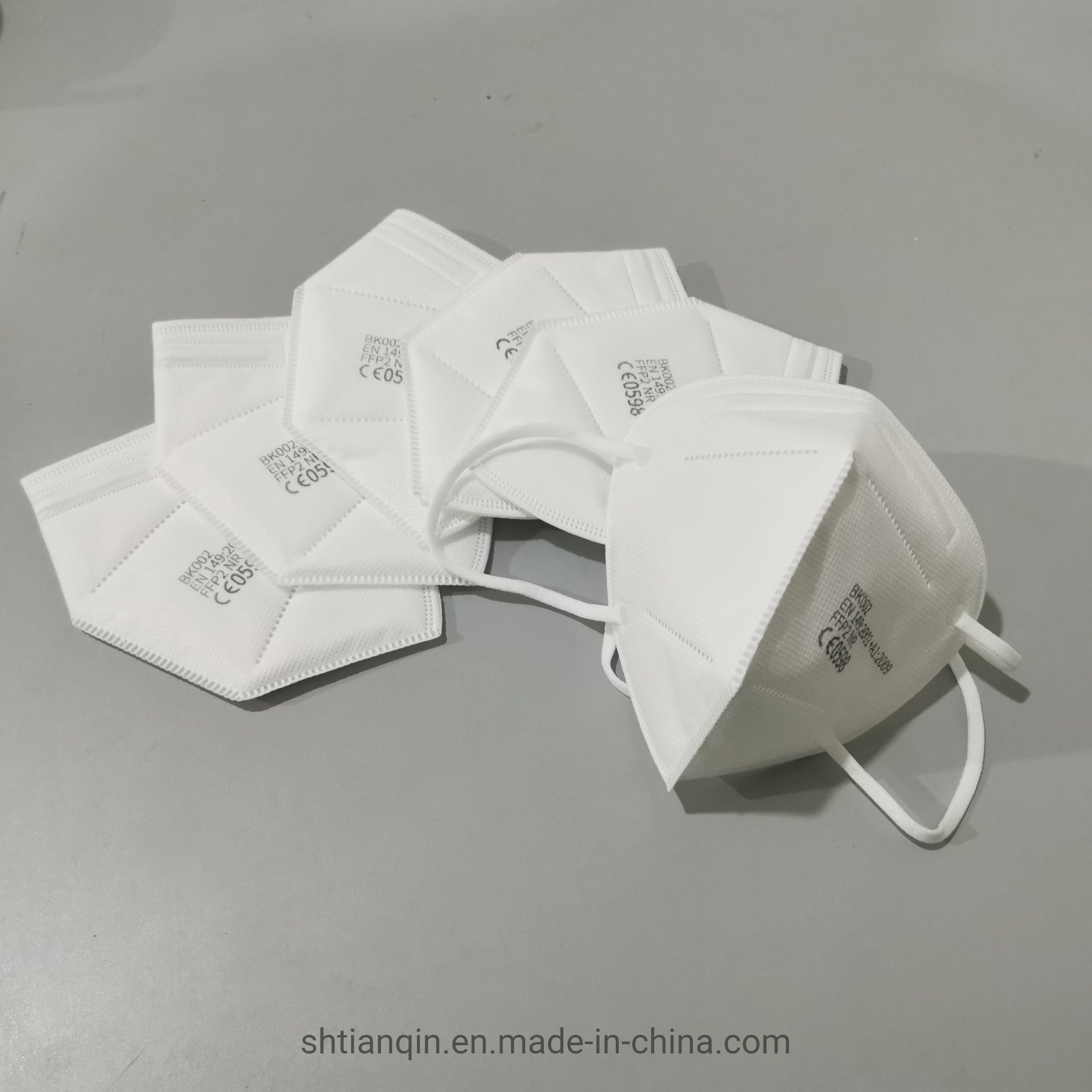 Hotsales FFP2 Nr Mask, CE &EN149: 2001+A1: 2009 Pronto per la spedizione