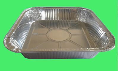 """9"""" contenedor rectangular de papel de aluminio (C013)"""
